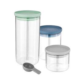 BergHOFF 3 stiklinių konteinerių rinkinys LEO 3950125